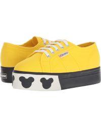 032786e3d075 Lyst - Vans Mickey s 90th Disney(r) Old Skool ((disney) Mickey Mouse ...