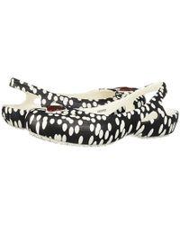 Crocs™ Kadee Minnie Dots Slingback (black/white) Flat Shoes