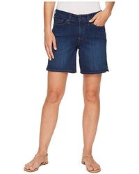 NYDJ - Jenna Shorts W/ Mini Side Slit In Cooper (cooper) Shorts - Lyst