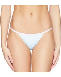 Lyst - The Bikini Lab Pineapple Playa Reversible String Tie Hipster ... 7d5f3f6d8