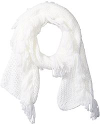 Vince Camuto - All Over Fringe Scarf - Lyst