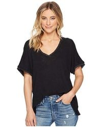 1720d8d0e5 Free People We The Free Striped Take Me Tee in Yellow - Lyst