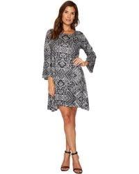 Nally & Millie - Ikat Print Dress - Lyst