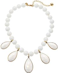 Kate Spade - True Colors Stone Necklace - Lyst