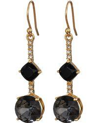 Kate Spade - Bright Ideas Linear Asymmetrical Drop Earrings - Lyst