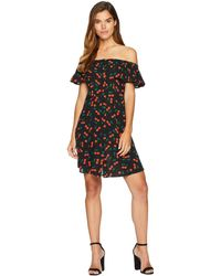 Romeo and Juliet Couture - Cherry Motif Midi Dress - Lyst