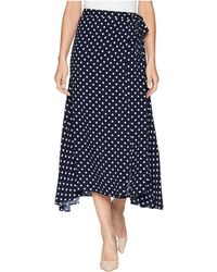 Chaps - Dot-print Skirt - Lyst