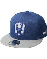 9638ffc677f9c KTZ - 9fifty Official Sideline Away Snapback - Indianapolis Colts - Lyst