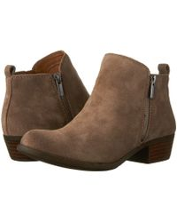 Lucky Brand - Basel Ankle Bootie - Lyst