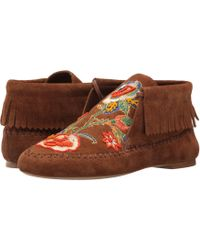 9e1e579bd99 Shearling Duck Boot.  375 Sold out. Neiman Marcus · Tory Burch - Huntington  Flat Bootie - Lyst