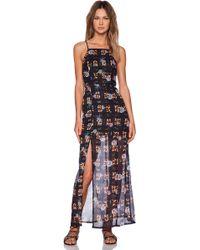 MINKPINK Jungle Fever Maxi Dress - Lyst