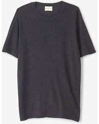 Simon Miller Garcon Dark Indigo Shirt - Lyst