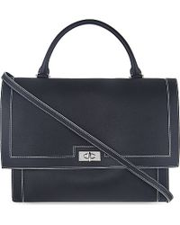 Givenchy Shark Tooth Leather Medium Over The Shoulder Handbag - For Women - Lyst