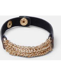 Violeta by Mango - Multiple Chain Bracelet - Lyst