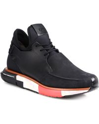 Y-3 Hayex Laceup Lowtop Sneakers - Lyst