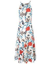 Thakoon Floral Print A-line Dress - Lyst