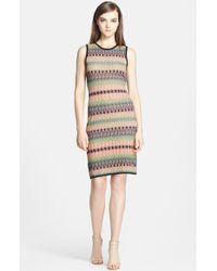 M Missoni Tie Dye Stretch Knit Body-Con Dress - Lyst