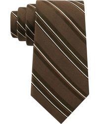 DKNY Sneaky Stripe Slim Tie - Lyst