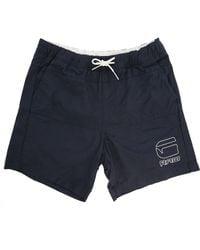 G-Star RAW Indigo Yoshem Raw Swim Shorts - Lyst