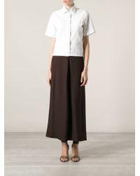 Forte Forte Longlength Skirt - Lyst