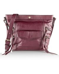 Rebecca Minkoff Dexter Bucket Leather Shoulder Bag - Lyst