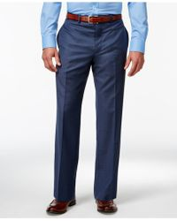Calvin Klein | Blue Slim-fit Pants | Lyst