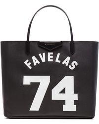 Givenchy Antigona Favelas 74 Faux-leather Tote - Lyst