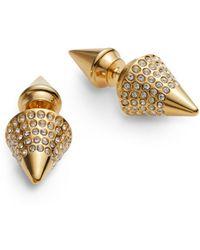 Vita Fede Titan Double-Spike Stud Earrings - Lyst