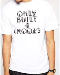 Crooks and Castles - T-shirt With Built Logo - Lyst