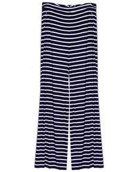 Harvey Faircloth | Stripe Wide Leg Pant | Lyst