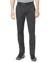Calvin Klein Ck One Ultra-slim Fit Pants - Lyst