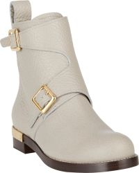 Chloé Double-Buckle Ankle Boots - Lyst