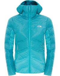 The North Face - Fuseform Dot Matrix Hooded Down Women's Jacket - Lyst