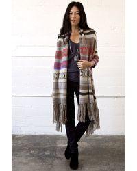 Goddis Kita Sweater With Fringe - Lyst
