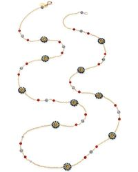 Miguel Ases - Labradorite and Quartz Necklace - Lyst