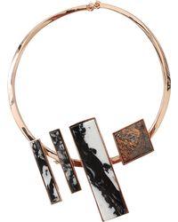 Eddie Borgo Composition Collar - Lyst