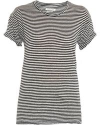 Etoile Isabel Marant Andrei Striped T-Shirt - Lyst