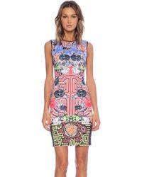 Clover Canyon Floral Maze Shift Dress - Lyst