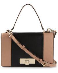 Michael Kors Callie Medium Leather Cross-Body Bag - Lyst