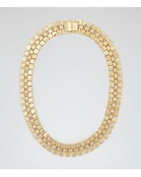 Reiss Meadow Chain Gold Necklace - Lyst