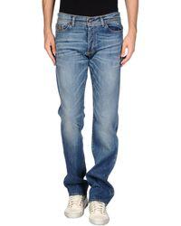 Liu Jeans Denim Pants blue - Lyst
