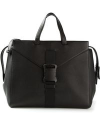 Christopher Kane Safety Buckle Tote - Lyst