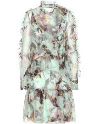 Erdem Mytheresa.Com Exclusive Adeline Silk Dress - Lyst