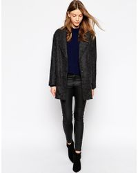 Parka London Textured Wool Car Coat - Lyst