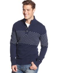 Tommy Hilfiger Christopher Half-button Pullover - Lyst
