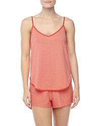 Hanro Raquel Striped Pajama Set - Lyst