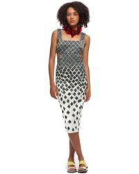 Suno Side Cutout Dress - Lyst