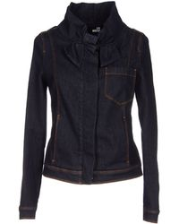 Love Moschino Denim Outerwear - Lyst