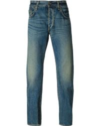 Rag & Bone Augusta Stone Washed Jeans - Lyst