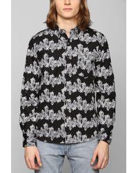 Vanishing Elephant Horizontal Floral Buttondown Shirt - Lyst